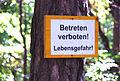 Perchtoldsdorf Kammerstein Verbotsschild.jpg