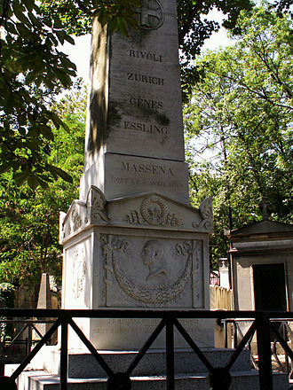 André Masséna - Tomb of Massena at the Père Lachaise Cemetery