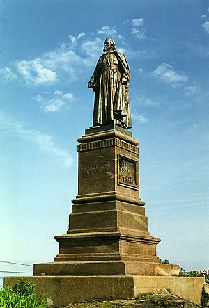 Marquette, Michigan - Statue of Jacques Marquette in Marquette