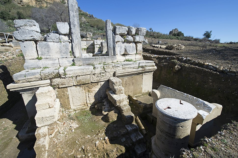 Perge Necropolis beyond West Gate 5261