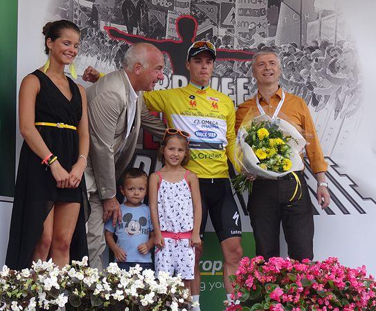 Perwez - Tour de Wallonie, étape 2, 27 juillet 2014, arrivée (D17).JPG