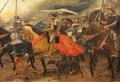 Peste obrigando os Castelhanos a levantar o Cerco a Lisboa (1901) - Constantino Fernandes.png