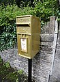Pete Reed's gold postbox in Watledge Road, Nailsworth, Gloucestershire (3).jpg