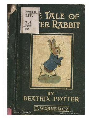 PeterRabbit1910.djvu