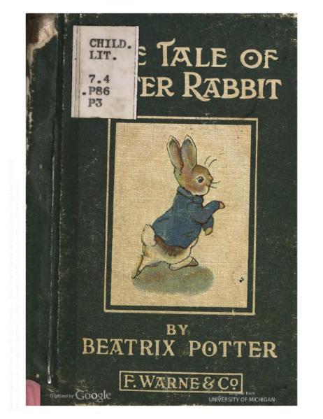 File:PeterRabbit1910.djvu
