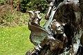 Peter Pan statue in Kensington Gardens in the City of Westminster in London, spring 2013 (6).JPG