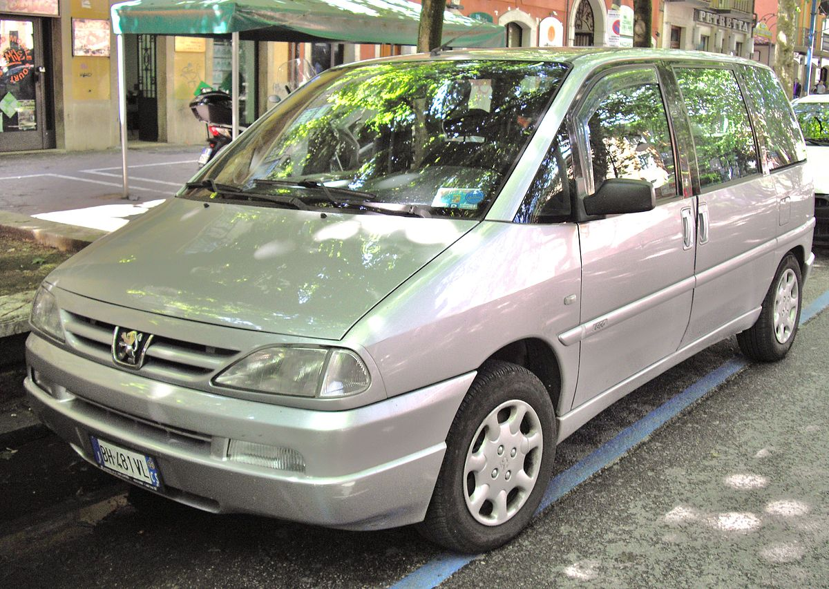 Peugeot 806 wikipedia for Peugeot 806 interieur