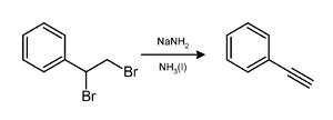 Phenylacetylene - Image: Phenylacetylene prepn