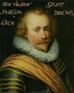 Philip of Hohenlohe-Neuenstein Dutch army commander