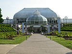 Main entrance to Phipps Conservatory & Botanical Gardens