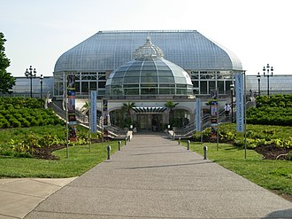 Leadership in Energy and Environmental Design - Phipps Conservatory & Botanical Gardens in Pittsburgh has multiple LEED certifications, including the world's only Platinum-certified greenhouse