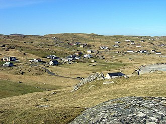 Macaulay family of Lewis - The villages of Kneep and Valtos, in Uig. These lands were once held by the Macaulays of Uig.
