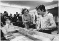 Photograph of First Lady Betty Ford Observing a Demonstration by a Student at the Children's Recreation Program in... - NARA - 186824.tif