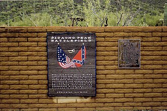 Battle of Picacho Pass - Image: Picacho Battle of Picacho Marker 2