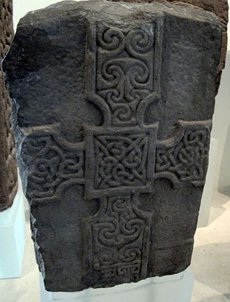 Monifieth Sculptured Stones - Monifieth 2, front face