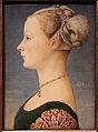 Piero del pollaiolo, ritratto di giovane donna, 1470-75 ca. (poldi pezzoli) 02.JPG