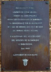 Pierre Mechain Placa Montjuïc (Barcelona,Catalunya).jpg