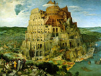Pieter Bruegel Toren van babel groot
