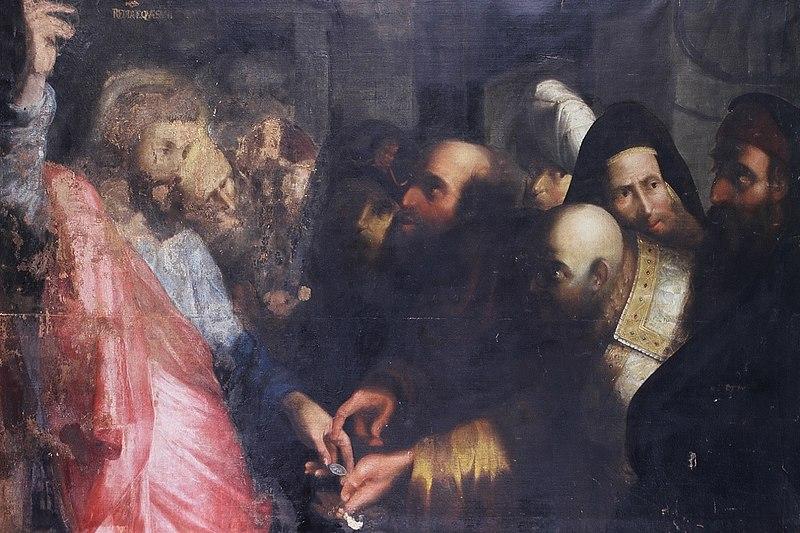 File:Pietro della Vecchia - Render unto Caesar.JPG