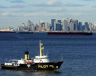 Kill Van Kull - Image: Pilot Boat NYC Harbor