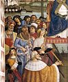 Pinturicchio - No. 10 - Pope Pius II Arrives in Ancona (detail) - WGA17808.jpg