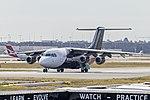 Pionair Australia (VH-SAZ) BAe 146-200QC at Sydney Airport.jpg