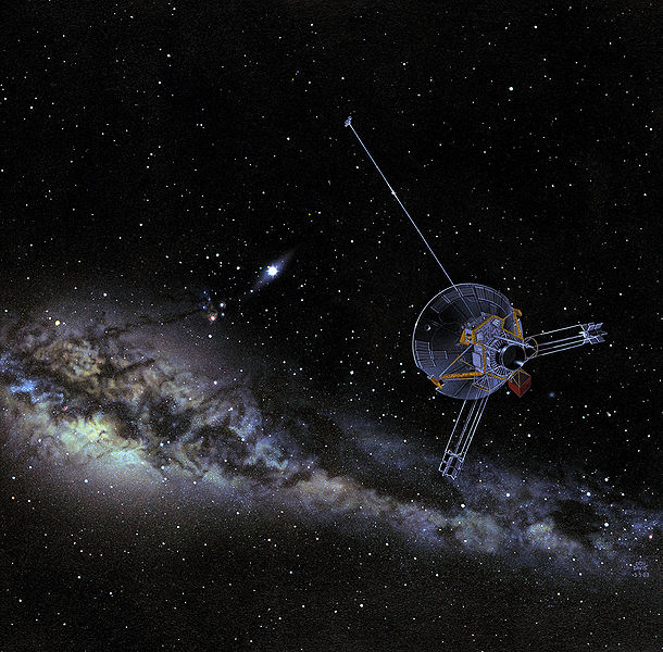 File:Pioneer 10 or 11 in outer solar system.jpg