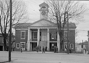 Pittsylvania County Courthouse (Virginia).(cro...