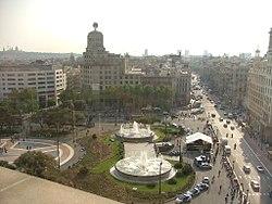 Plaça de Catalunya. Barcelona. ESP 2007