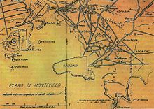 Montevideo Wikipedia - Montevideo map