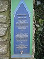 Plaque at Eleanor's Well - geograph.org.uk - 136232.jpg