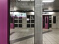 Platform of Nagitsuji Station from train of Tozai Line 2.jpg