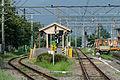 Platforms of Shimoyoshida Station, Fujiyoshida 20130813 1.jpg