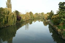 La Seine à Poissy.