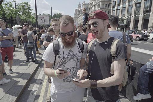 Pokémon GO - London Massive Lure Party - July 23, 2016 22