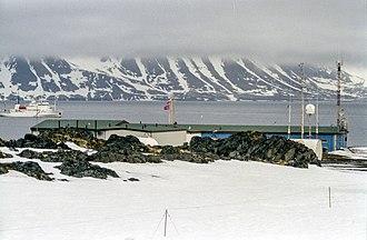 Spitsbergen - Hornsund Polish Arctic Station, photographed in 2003