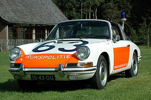 Porsche 912 - 1968 Porsche 912 Targa, used by the Dutch police
