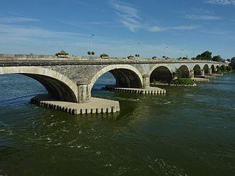 Les Ponts-de-Cé - The Dumnacus Bridge in Les Ponts-de-Cé