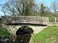 Pont yng nghornel y sgwar. Bridge at the corner of SH 8968 - geograph.org.uk - 379045.jpg