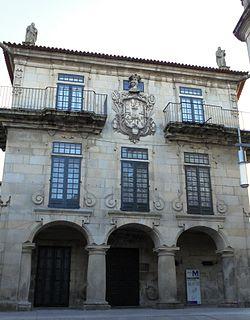 Pazo de García Flórez Mansion in Pontevedra, Spain