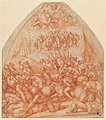 Pontormo - Bekehrung und Sieg der Soldaten des Achatius, um 1521.jpg