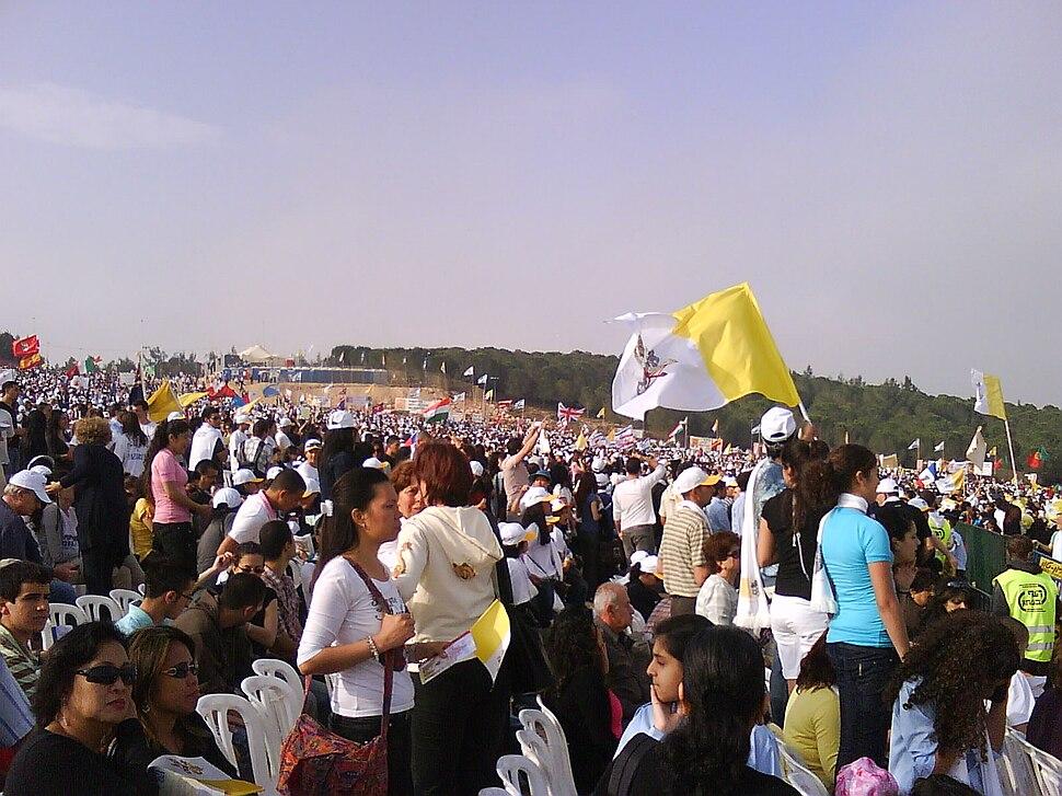 Pope Benedict 16 in Nazareth 1