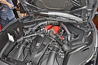 Ferrari Portofino - the 3.9-litre F154BD twin-turbocharged V8 engine