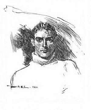 Howard Chandler Christy - Portrait of Christy, by himself