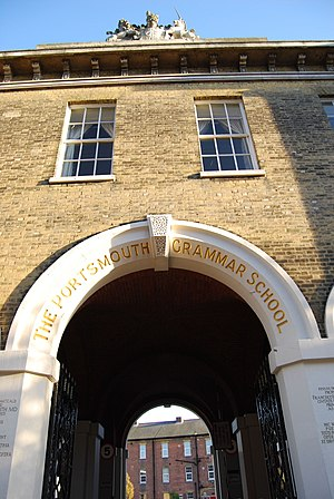 Maxwell Hendry Maxwell-Anderson - The Main Arch, The Portsmouth Grammar School