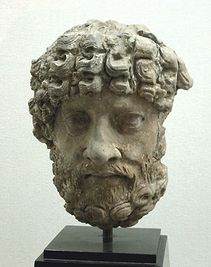 Ancient Orient Museum - Image: Poseidon Gandhara