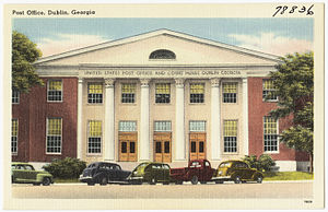 Dublin, Georgia - Post Office and U.S. Courthouse