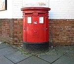 Post box at Penny Lane post office.jpg