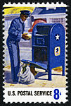 Postal Service Employees - Mail Collection - 8c 1973 issue U.S. stamp.jpg