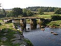 Postbridge Clapper Bridge - geograph.org.uk - 224691.jpg